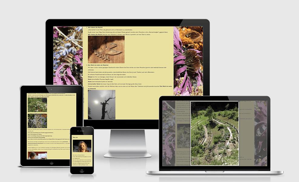Kräuterwerkstatt Renate Schertle | WordPress-Seite