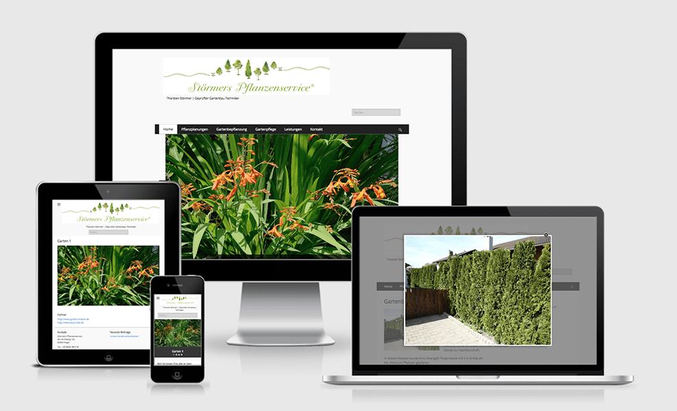 Störners Pflanzenservice | WordPress-Seite