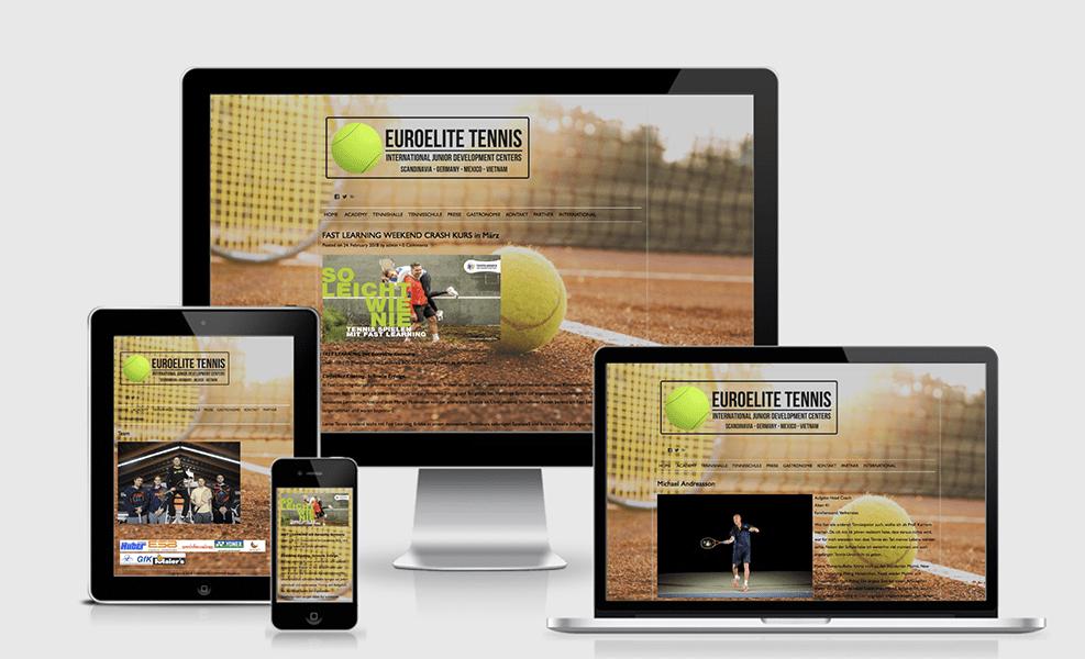 EUROELITE TENNIS | Tennisschule Michael Andreasson | WordPress-Seite